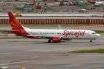 妄想竹さんが、スワンナプーム国際空港で撮影したスパイスジェット 737-9GJ/ERの航空フォト(写真)