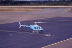 kumagorouさんが、仙台空港で撮影した日本法人所有 206B JetRanger IIIの航空フォト(写真)