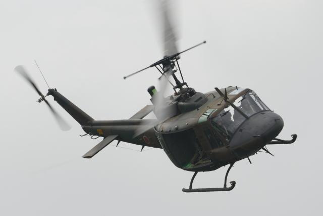 黄色の168さんが、北千歳駐屯地で撮影した陸上自衛隊 UH-1Jの航空フォト(飛行機 写真・画像)