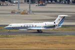セブンさんが、羽田空港で撮影した海上保安庁 G-V Gulfstream Vの航空フォト(飛行機 写真・画像)