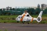 あきらっすさんが、調布飛行場で撮影した東邦航空 SA365N1 Dauphin 2の航空フォト(写真)