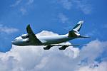 パンダさんが、成田国際空港で撮影したキャセイパシフィック航空 747-867F/SCDの航空フォト(写真)