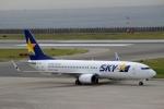 ハピネスさんが、神戸空港で撮影したスカイマーク 737-8HXの航空フォト(飛行機 写真・画像)