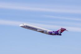 Dra-gonさんが、ダニエル・K・イノウエ国際空港で撮影したハワイアン航空 717-22Aの航空フォト(飛行機 写真・画像)