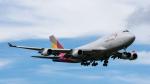 ぱん_くまさんが、成田国際空港で撮影したアシアナ航空 747-446(BDSF)の航空フォト(写真)