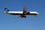 トシさんさんが、マイアミ国際空港で撮影したUSエアウェイズ A321-211の航空フォト(写真)