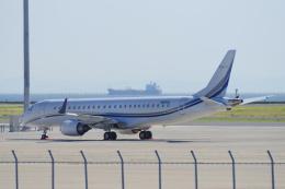 yabyanさんが、中部国際空港で撮影したアメリカ個人所有 ERJ-190-100 ECJ (Lineage 1000)の航空フォト(飛行機 写真・画像)