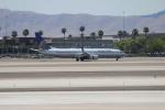 uhfxさんが、マッカラン国際空港で撮影したユナイテッド航空 737-924の航空フォト(飛行機 写真・画像)