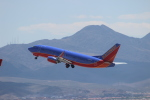 uhfxさんが、マッカラン国際空港で撮影したサウスウェスト航空 737-3H4の航空フォト(飛行機 写真・画像)