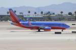 uhfxさんが、マッカラン国際空港で撮影したサウスウェスト航空 737-7H4の航空フォト(飛行機 写真・画像)