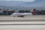 uhfxさんが、マッカラン国際空港で撮影したヴァージン・アメリカ A320-214の航空フォト(写真)