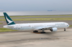 なごやんさんが、中部国際空港で撮影したキャセイパシフィック航空 777-367の航空フォト(写真)