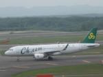 くまのんさんが、新千歳空港で撮影した春秋航空 A320-214の航空フォト(飛行機 写真・画像)