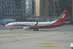 いっとくさんが、上海虹橋国際空港で撮影した上海航空 737-89Pの航空フォト(写真)