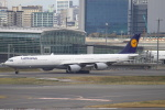 セブンさんが、羽田空港で撮影したルフトハンザドイツ航空 A340-642の航空フォト(飛行機 写真・画像)