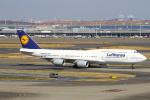 セブンさんが、羽田空港で撮影したルフトハンザドイツ航空 747-830の航空フォト(飛行機 写真・画像)