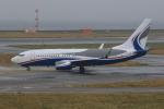 みるぽんたさんが、関西国際空港で撮影したACMアヴィエーション 737-7AU BBJの航空フォト(写真)