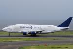 yabyanさんが、中部国際空港で撮影したボーイング 747-409(LCF) Dreamlifterの航空フォト(写真)