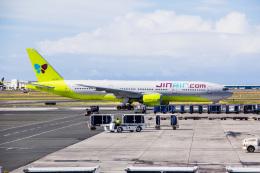Dra-gonさんが、ダニエル・K・イノウエ国際空港で撮影したジンエアー 777-2B5/ERの航空フォト(飛行機 写真・画像)
