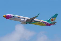 PASSENGERさんが、プーケット国際空港で撮影したノックエア 737-86Jの航空フォト(飛行機 写真・画像)