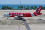 PASSENGERさんが、プーケット国際空港で撮影したエアアジア A320-214の航空フォト(写真)