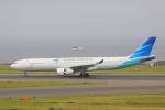 じゃりんこさんが、中部国際空港で撮影したガルーダ・インドネシア航空 A330-343Xの航空フォト(写真)