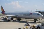職業旅人さんが、関西国際空港で撮影したアシアナ航空 A330-323Xの航空フォト(写真)