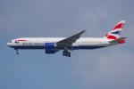 PASSENGERさんが、スワンナプーム国際空港で撮影したブリティッシュ・エアウェイズ 777-236/ERの航空フォト(写真)