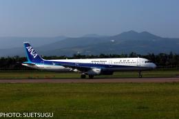 JL6DXRさんが、函館空港で撮影した全日空 A321-131の航空フォト(飛行機 写真・画像)