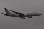 木人さんが、成田国際空港で撮影したタイ国際航空 777-2D7/ERの航空フォト(写真)