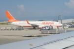職業旅人さんが、関西国際空港で撮影したチェジュ航空 737-8ASの航空フォト(写真)