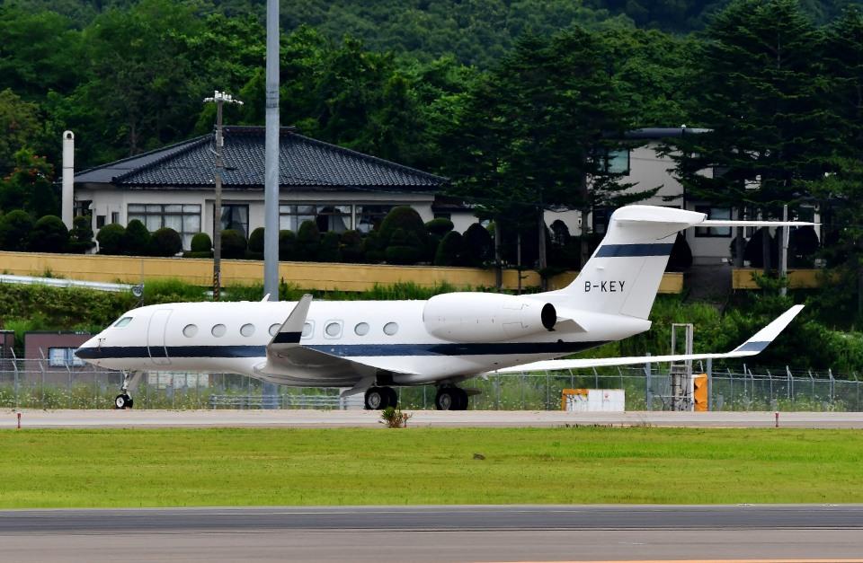 Dojalanaさんのメトロジェット Gulfstream G650 (G-VI) (B-KEY) 航空フォト