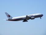 アイスコーヒーさんが、成田国際空港で撮影したマレーシア航空 777-2H6/ERの航空フォト(写真)