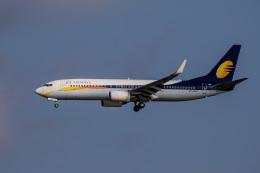 xingyeさんが、シンガポール・チャンギ国際空港で撮影したジェットエアウェイズ 737-85Rの航空フォト(飛行機 写真・画像)