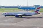 PASSENGERさんが、アムステルダム・スキポール国際空港で撮影したブリティッシュ・エアウェイズ 767-336/ERの航空フォト(写真)