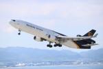 水月さんが、関西国際空港で撮影したUPS航空 MD-11Fの航空フォト(写真)