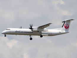 Mame @ TYOさんが、伊丹空港で撮影した日本エアコミューター DHC-8-402Q Dash 8の航空フォト(写真)