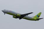 Severemanさんが、静岡空港で撮影したジンエアー 737-86Nの航空フォト(写真)