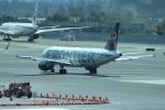 uhfxさんが、サンフランシスコ国際空港で撮影したフロンティア航空 A320-214の航空フォト(写真)