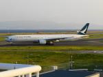 KIX787-9さんが、関西国際空港で撮影したキャセイパシフィック航空 777-367の航空フォト(写真)