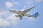 fukucyanさんが、関西国際空港で撮影したガルーダ・インドネシア航空 A330-243の航空フォト(写真)