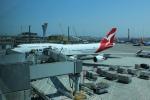 uhfxさんが、サンフランシスコ国際空港で撮影したカンタス航空 747-438/ERの航空フォト(飛行機 写真・画像)
