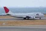 yabyanさんが、中部国際空港で撮影した日本航空 747-346の航空フォト(飛行機 写真・画像)