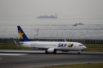 ハピネスさんが、神戸空港で撮影したスカイマーク 737-8Q8の航空フォト(飛行機 写真・画像)