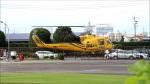 空とぶイルカさんが、群馬ヘリポートで撮影したアカギヘリコプター 204B-2(FujiBell)の航空フォト(写真)