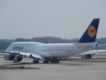 こいのすけさんが、北京首都国際空港で撮影したルフトハンザドイツ航空 747-830の航空フォト(写真)
