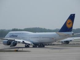 こいのすけさんが、北京首都国際空港で撮影したルフトハンザドイツ航空 747-830の航空フォト(飛行機 写真・画像)