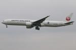 たみぃさんが、成田国際空港で撮影した日本航空 777-346/ERの航空フォト(写真)