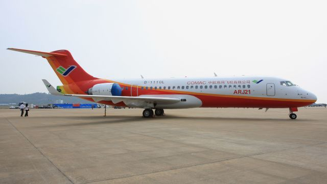 cathay451さんが、珠海金湾空港で撮影した中国商用飛機 ARJ21-700の航空フォト(飛行機 写真・画像)