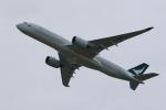 みるぽんたさんが、関西国際空港で撮影したキャセイパシフィック航空 A350-941XWBの航空フォト(写真)